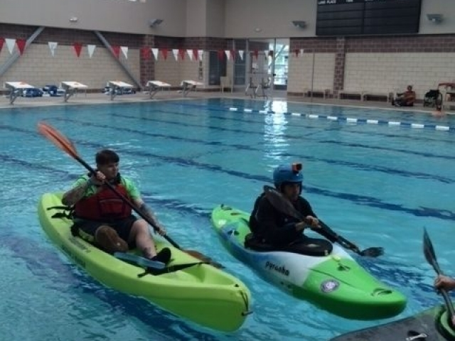 pool kayak