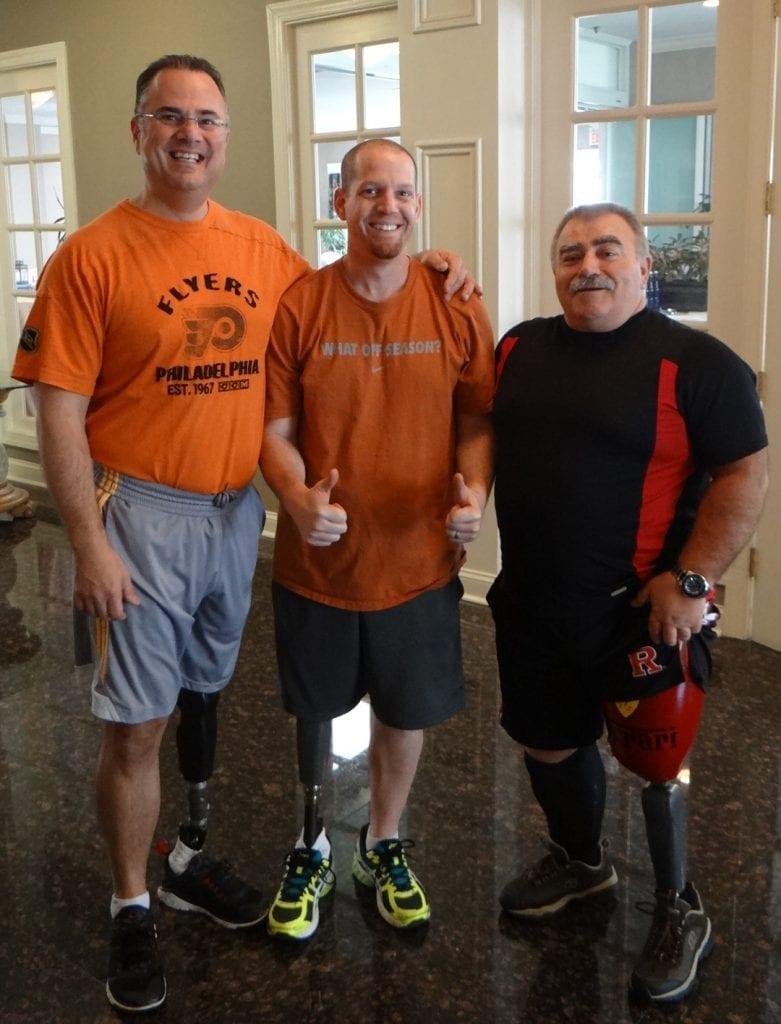 above knee prosthetic device
